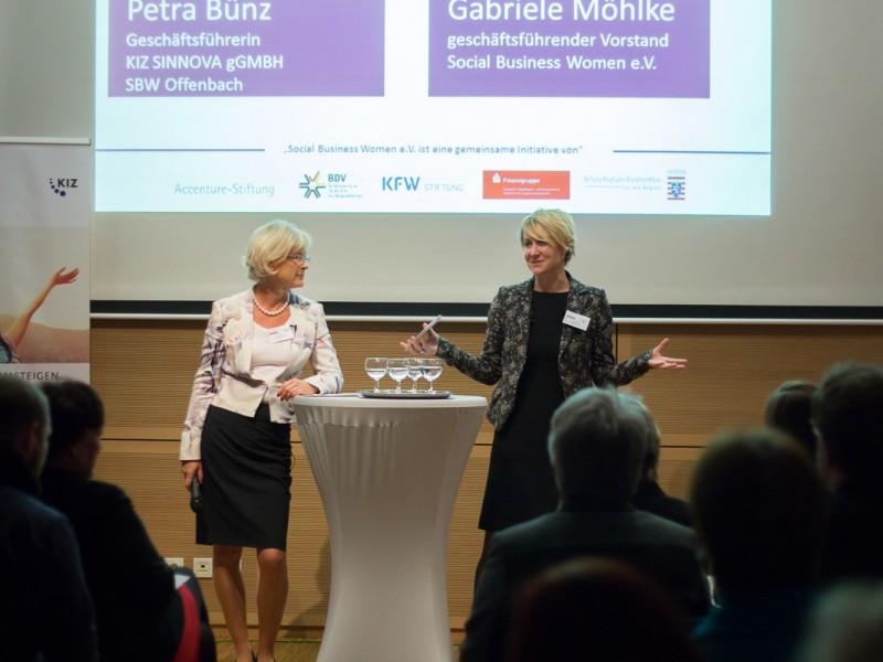 Social Business Women Auftaktveranstaltung Offenbach