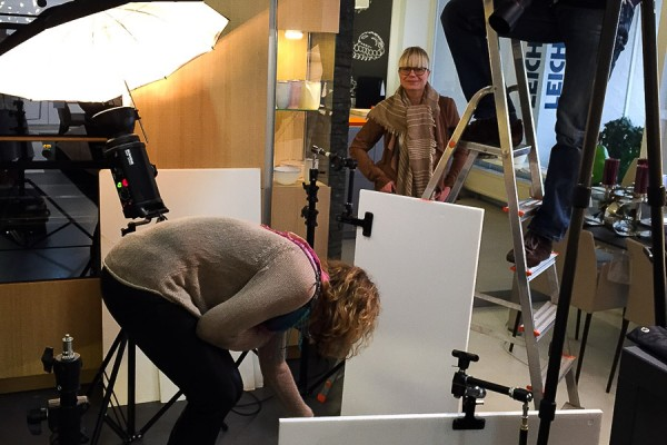 Social Business Women Postkarten-Shooting