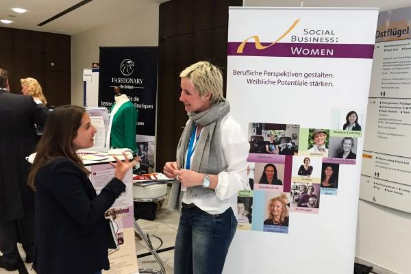 Social Business Women - Aufschwung Messe