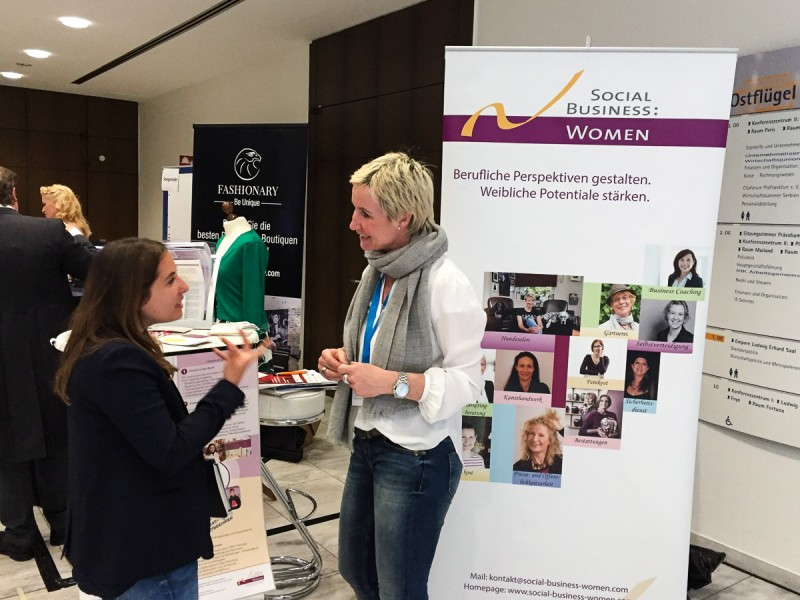 Social Business Women - Aufschwung Messe