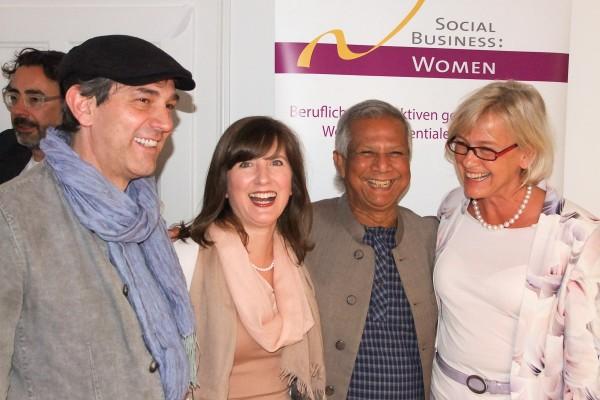 Social Business Women - Besuch Professor Yunus