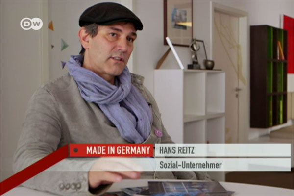 Hans Reitz und seinen Besuch bei Social Business Women
