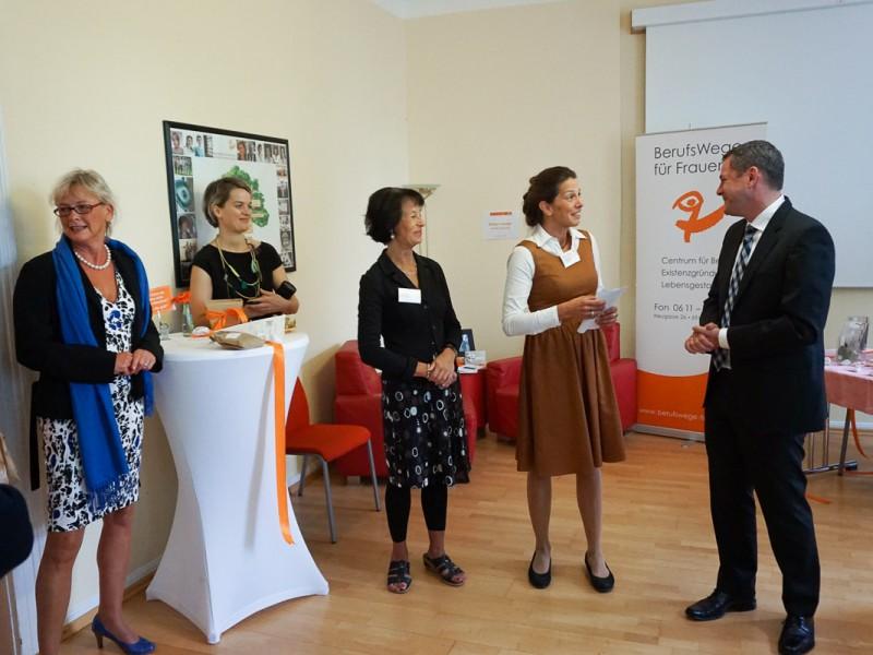 Social Business Women Open Day Berufswege für Frauen mit Sven Gerich