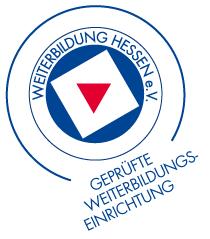 Weiterbildung Hessen e.V. Siegel Geprüfte Weiterbildungseinrichtung
